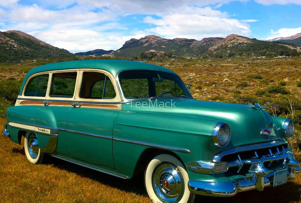 1954 Chevrolet Station Wagon by TeeMack