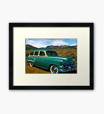 1954 Chevrolet Station Wagon Framed Print