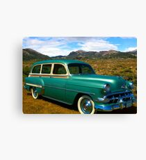 1954 Chevrolet Station Wagon Canvas Print