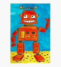 Captain Anuka the robot Photographic Print