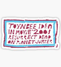 Toynbee tile Sticker