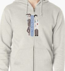 Doctor Spacemen Zipped Hoodie