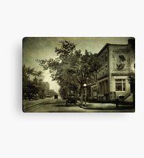 Vintage Streets Canvas Print