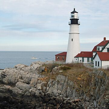 Portland Head Light- Maine by danigirl87