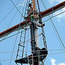 WORK ON THE RIGGING........! by Roy  Massicks