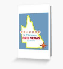 Bris Vegas Greeting Card