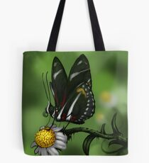Zebra Heliconian Tote Bag
