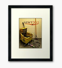 NO SNOBS! Framed Print