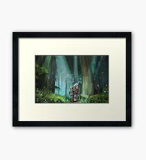 The Zelda Legend Framed Print