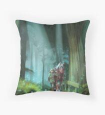 The Zelda Legend Throw Pillow