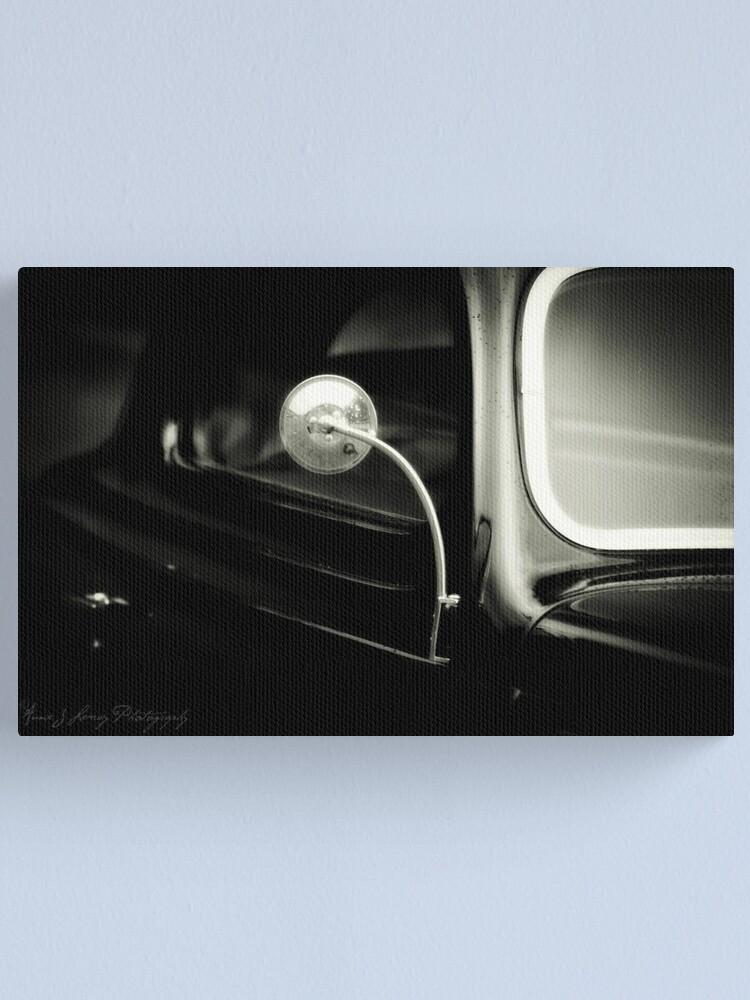 Alternate view of Black Car 2 Canvas Print