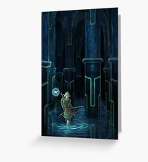Water Temple  Greeting Card
