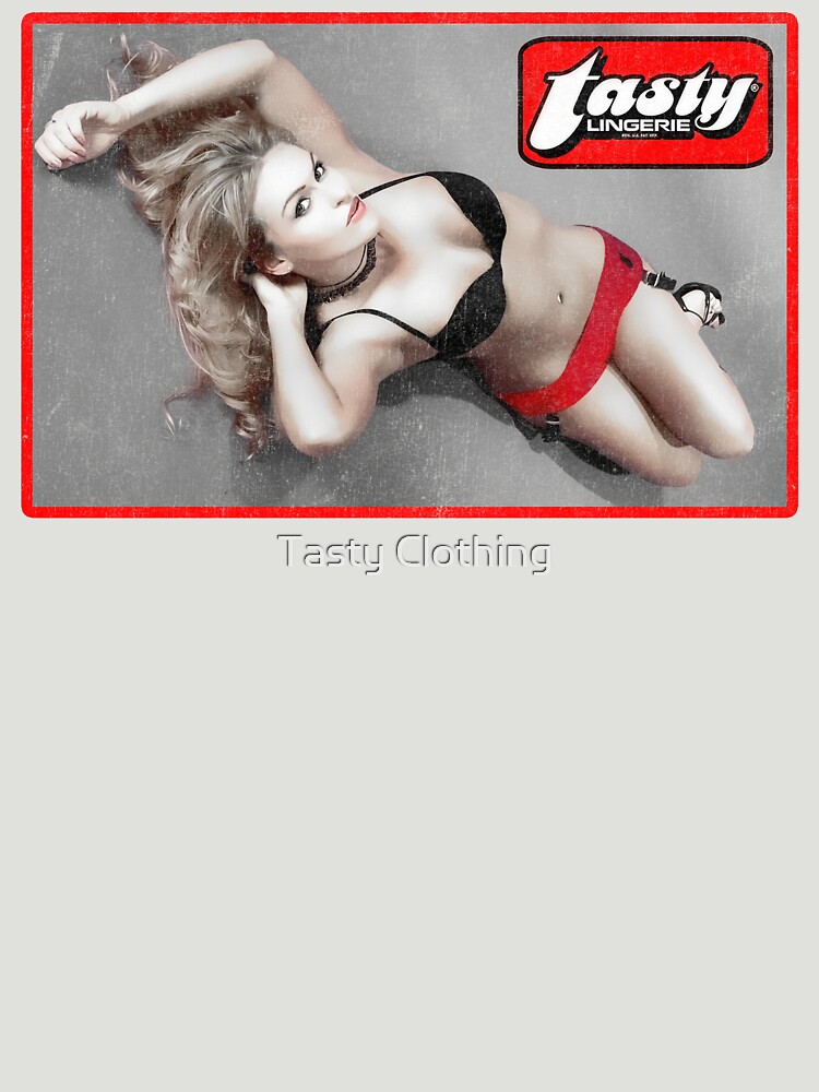 Tasty® Brand Lingerie Miranda Laid Out by Deadscan