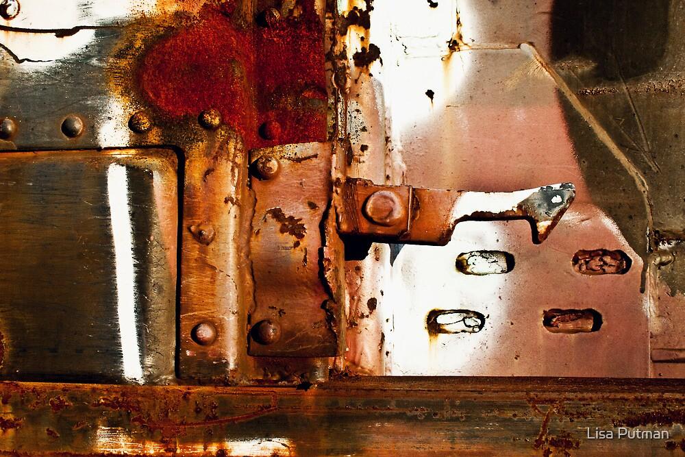 Rusty Latch by Lisa Putman