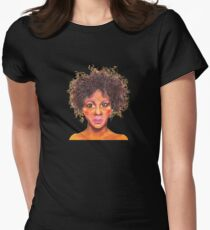 Confused Womens Fitted T-Shirt