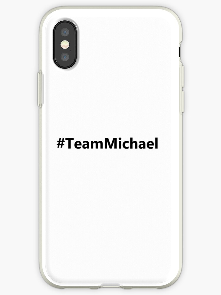 the latest b1354 ad6a4 'Jane the Virgin - #TeamMichael' iPhone Case by naamaparamore