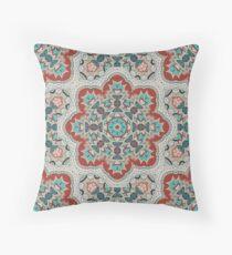Indian pattern with mandala. Throw Pillow