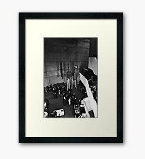 Brutalism ll Cover Framed Print