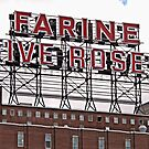 Five Roses Sign  by Ethna Gillespie