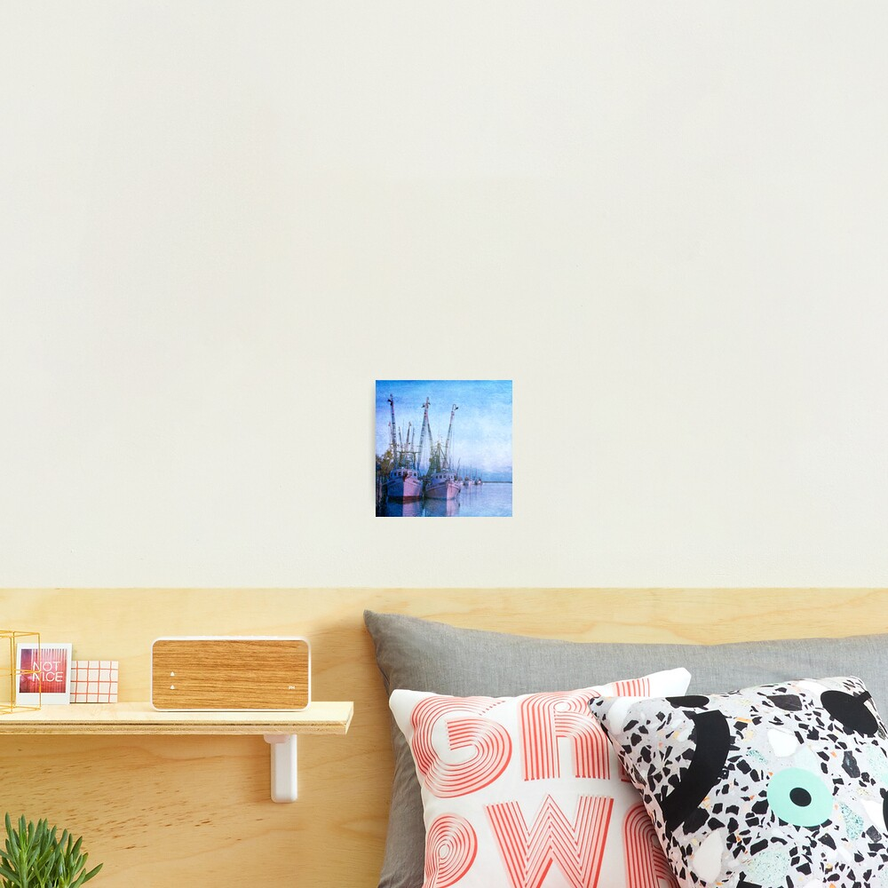 Dockside on the Darien ll Photographic Print