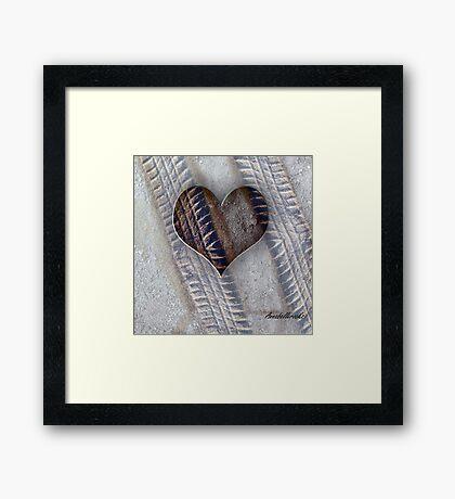 A MARK OF THE HEART Framed Print