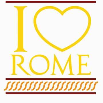 I love Rome by severodan