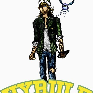 The Hyrule Hipster by FrankSmithArt