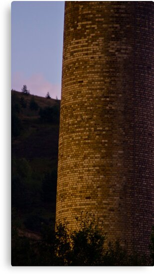 Brick Chimney by Andy Merrett