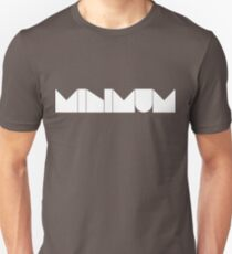 MINIMUM - White Ink Unisex T-Shirt