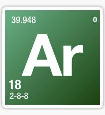 Element Argon Sticker