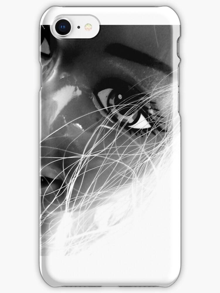Shiny Happy Plastic iPhone by Margaret Bryant