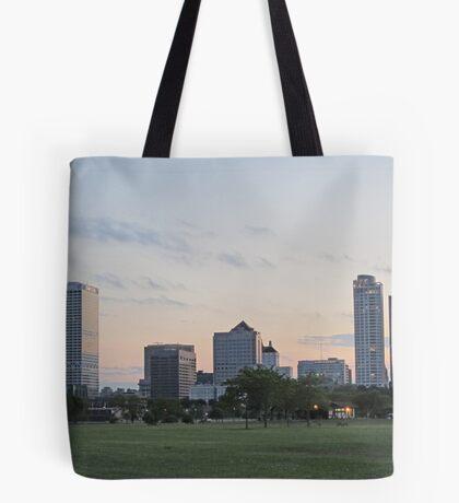 Daylight Milwaukee Skyline Tote Bag