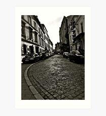 Poselska street, Kraków, Poland . by Doktor Faustus . Favorites: 1 Views: 82 . Thx! Art Print
