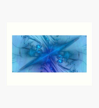 Imagine ... Blue Art Print