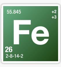 Element Iron Sticker