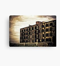 Time Tells Its Own Tales - Red Hook - Brooklyn Canvas Print