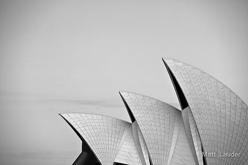 Sydney Opera House by Matt  Lauder