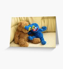 Grover and Stefan Greeting Card