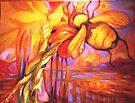 Bumble Bee Homing, All Else Kaleidoscope by Barbara Sparhawk