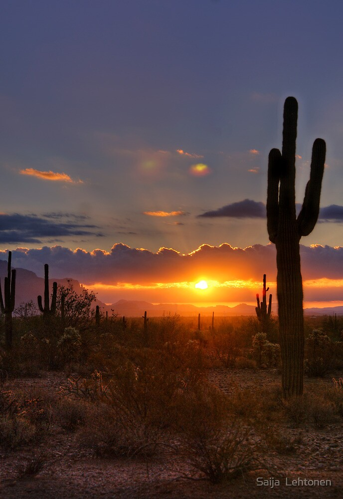 A Spectacular Sunrise  by Saija  Lehtonen