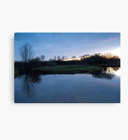 Blue Nature Canvas Print