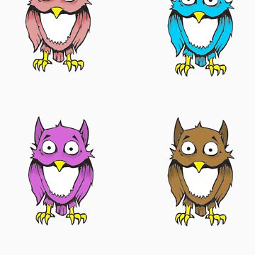 She made me name it Owlies. by Kloud23