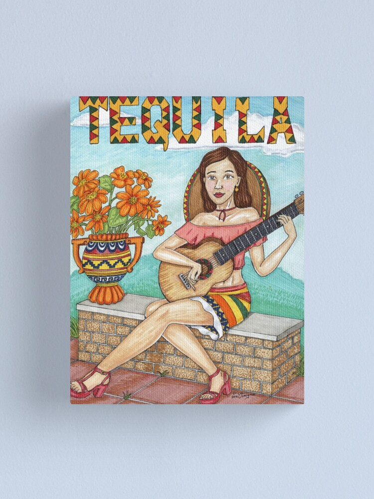 Alternate view of Tequila senorita Canvas Print