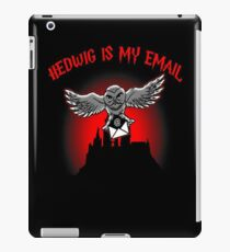 Hedwig is my email iPad Case/Skin