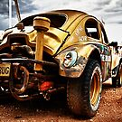 In The Outback - Opal Buggy  by Juhana Tuomi