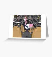 Flamingo Han Greeting Card
