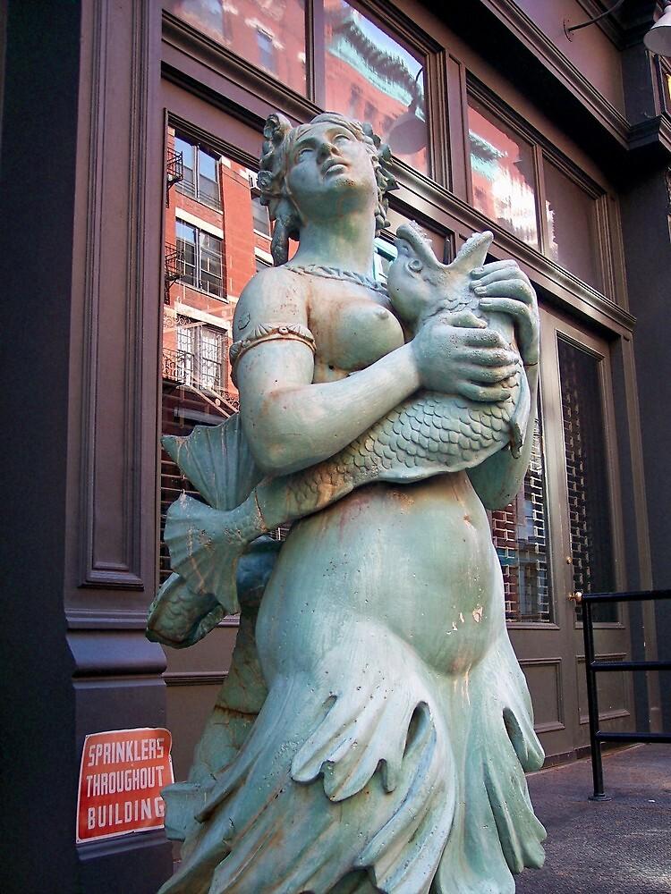 Mermaid in Manhattan by Nella Khanis