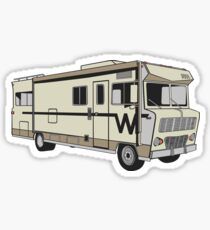 Meth RV Lab Sticker