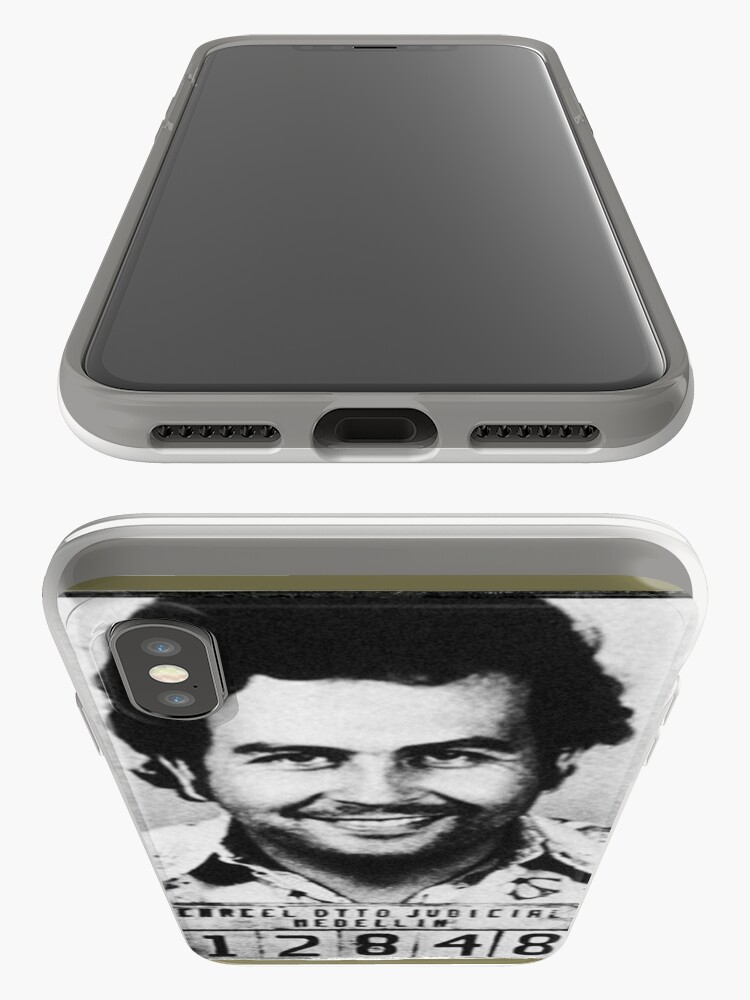 Alternative Ansicht von Escobar Mugshot iPhone-Hülle & Cover