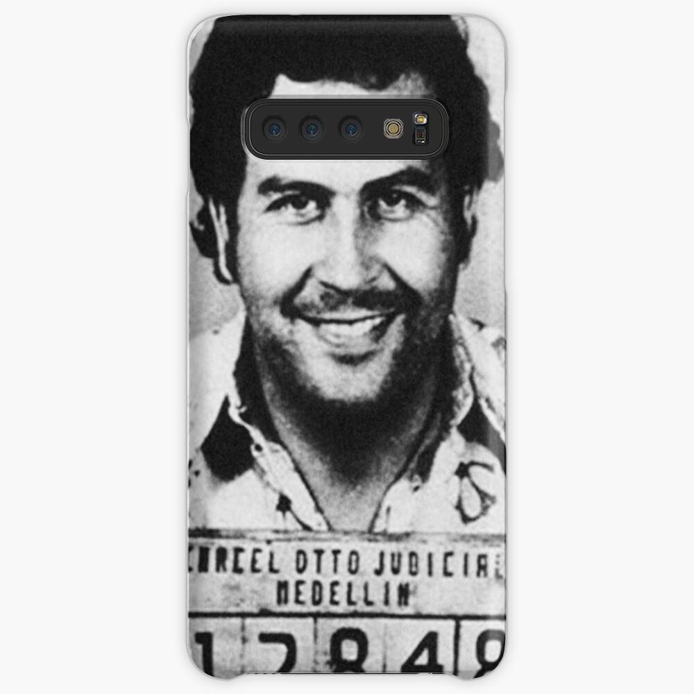 Escobar Mugshot Hülle & Klebefolie für Samsung Galaxy